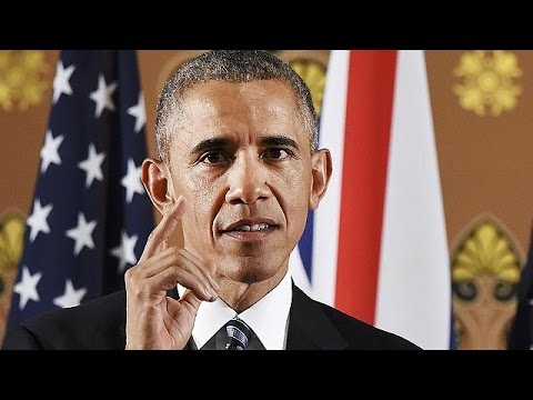 """Obama warns UK it will be at 'back of the queue"""" for US trade if it votes to leave EU"""