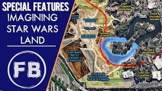 Imagining Star Wars Land - A new look from overhead