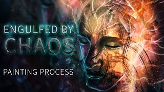Engulfed by chaos speed painting