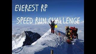 Roblox Gameplay: Mount Everest Speed Run Challenge (Timelapse 2x)