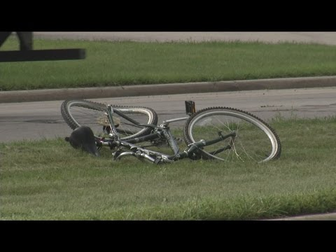 New Berlin teenager in 'satisfactory' condition after being hit on bike by truck