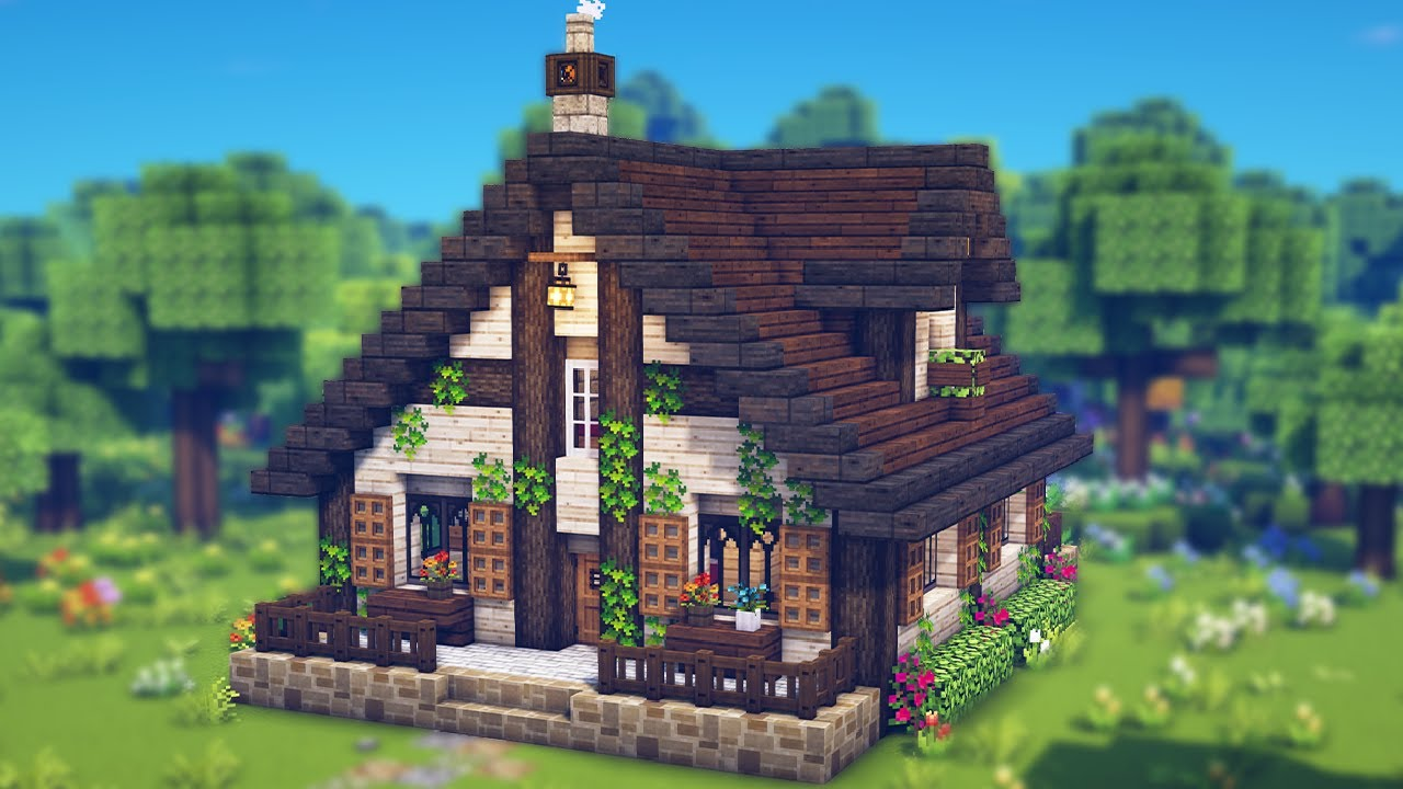 Aesthetic Minecraft Cozy House Aesthetic Build Relaxing Build Youtube