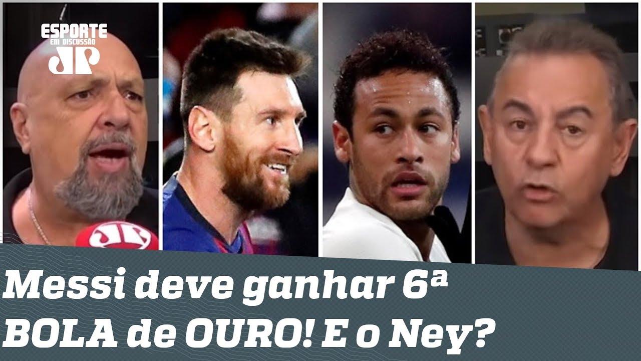 Messi deve ganhar a 6ª BOLA de OURO! E Neymar? Debate ESQUENTA!