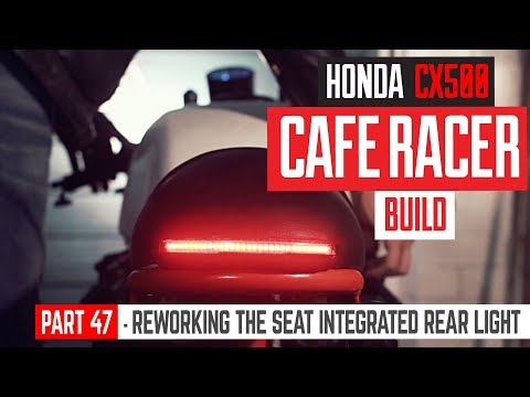 With a photoshoot booked of the Honda CX500 Cafe Racer project for next week I wasn't happy with the current rear light, so in this video we're integrating it into ...