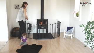 Baby Dan Flex/Configure XL - hearth gate