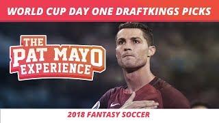 2018 World Cup Picks - June 15 Slate DraftKings Picks, DK Soccer and Showdown Strategy