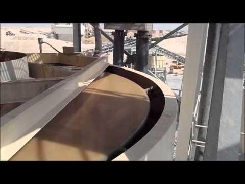 Qatar 350 t/hr Aggregates Sand Washing PLant  - Sand Treatment Plant - Part 2.wmv
