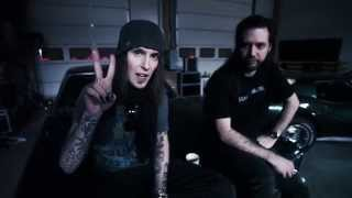 Alexi Laiho and Janne Warman of CHILDREN OF BODOM check in with new...