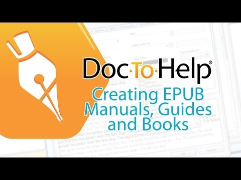 Tips For Creating EPUB Manuals, Guides, And Books