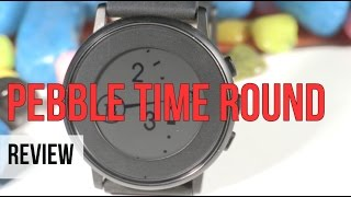 Pebble Time Round Smart Watch Review | Digit.in