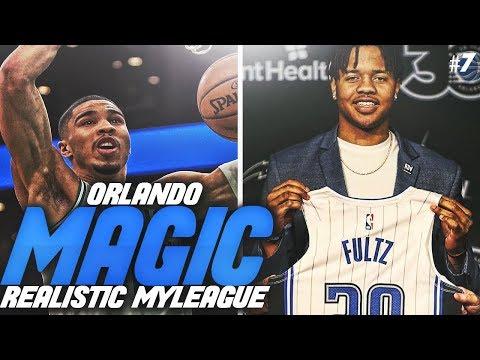 FACING THE NEW LOOK CELTICS! NBA 2K19 ORLANDO MAGIC REALISTIC MYLEAGUE #5