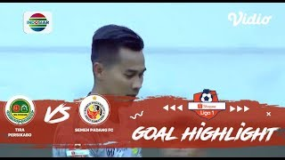 Tira Persikabo (1) vs (1) Semen Padang FC- Goal Highlight | Shopee Liga 1