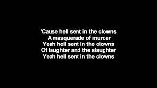 Lordi - Hell Sent In The Clowns | Lyrics on screen | HD