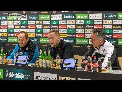 12. Spieltag | SGD - EBS | Pressekonferenz nach dem Spiel