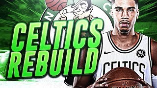 GAME 7 OT NBA FINAL THRILLER! CELTICS REBUILD! NBA 2K18
