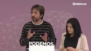Pablo Iglesias preguntará a Zoido en el Pleno por el piso del director de la DGT