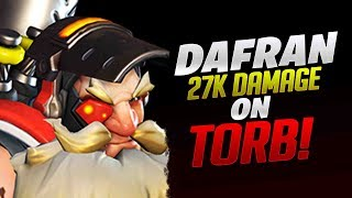 Dafran 27k Damage With Torbjorn! - Overwatch
