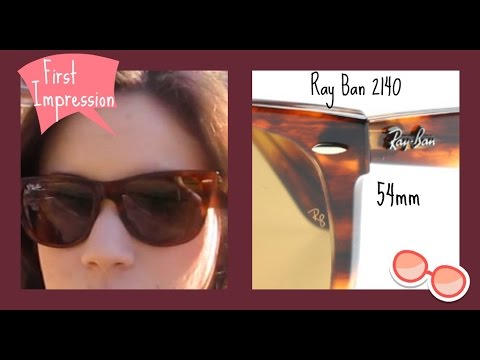 0e82401ac4 Ray Ban 2140 54mm First Impression