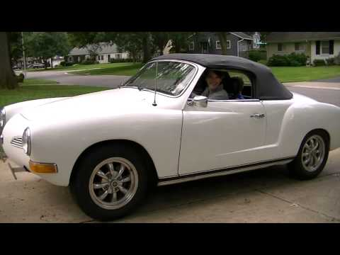 Karmann Ghia delivery