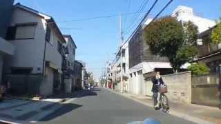 北小岩4丁目~北小岩3丁目(車載動画)江戸川区Tokyo,Japan.