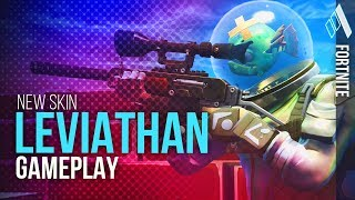 *NEW* SKIN LEVIATHAN GAMEPLAY | Fortnite Battle Royale