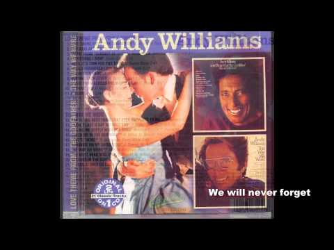 Andy Williams  Original Album  Until Its Time For You To Go
