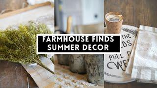 Farmhouse Finds Home Decor Haul   2021 Garden Home Decor   Living it Country