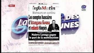 LA REVUE DES GRANDES UNES EQUINOXE TV DU MERCREDI 04 AVRIL 2018