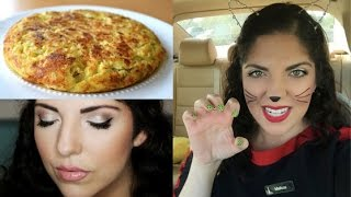 Honeybee Vlog Cam: New Opportunity, Halloween, Spanish Tortilla Recipe