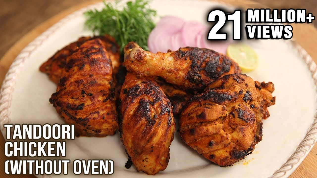 Tandoori Chicken | No Oven – Easy To Make Recipe | The Bombay Chef ...