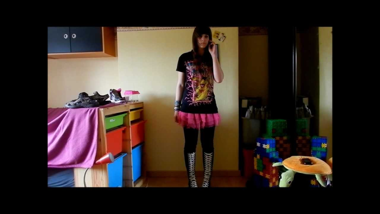 My Scene Emo Outfits Youtube