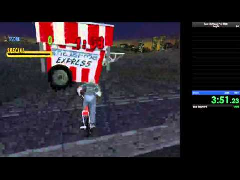 Mat Hoffman's Pro Bmx Any% Speedrun 8:58 World Record