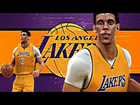NBA 2K17 - Lonzo Ball L.A. Lakers Mix