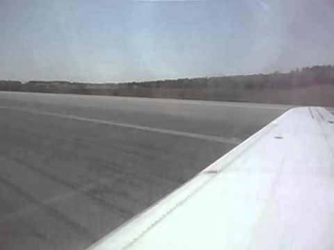 Landing in Bangor, Maine (BGR) Bangor International Airport
