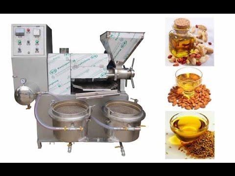 Automatic screw type oil press machine multi purpose oil for Food bar press machine