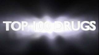 top 100 drugs brand and generic names + classification