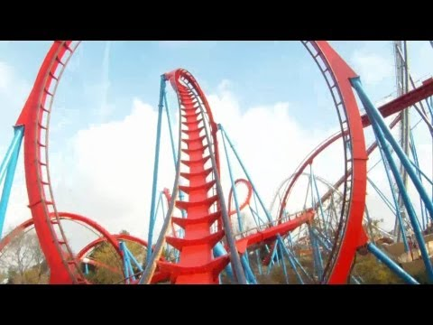 Dragon Khan On-ride HD POV PortAventura