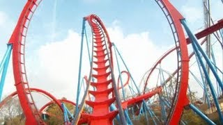 Dragon Khan on-ride HD POV PortAventura(Wildly recognised as one of the best and most intense coasters in the world, Dragon Khan opened at the same time as PortAventura theme park. This B&M ..., 2012-11-30T14:18:30.000Z)