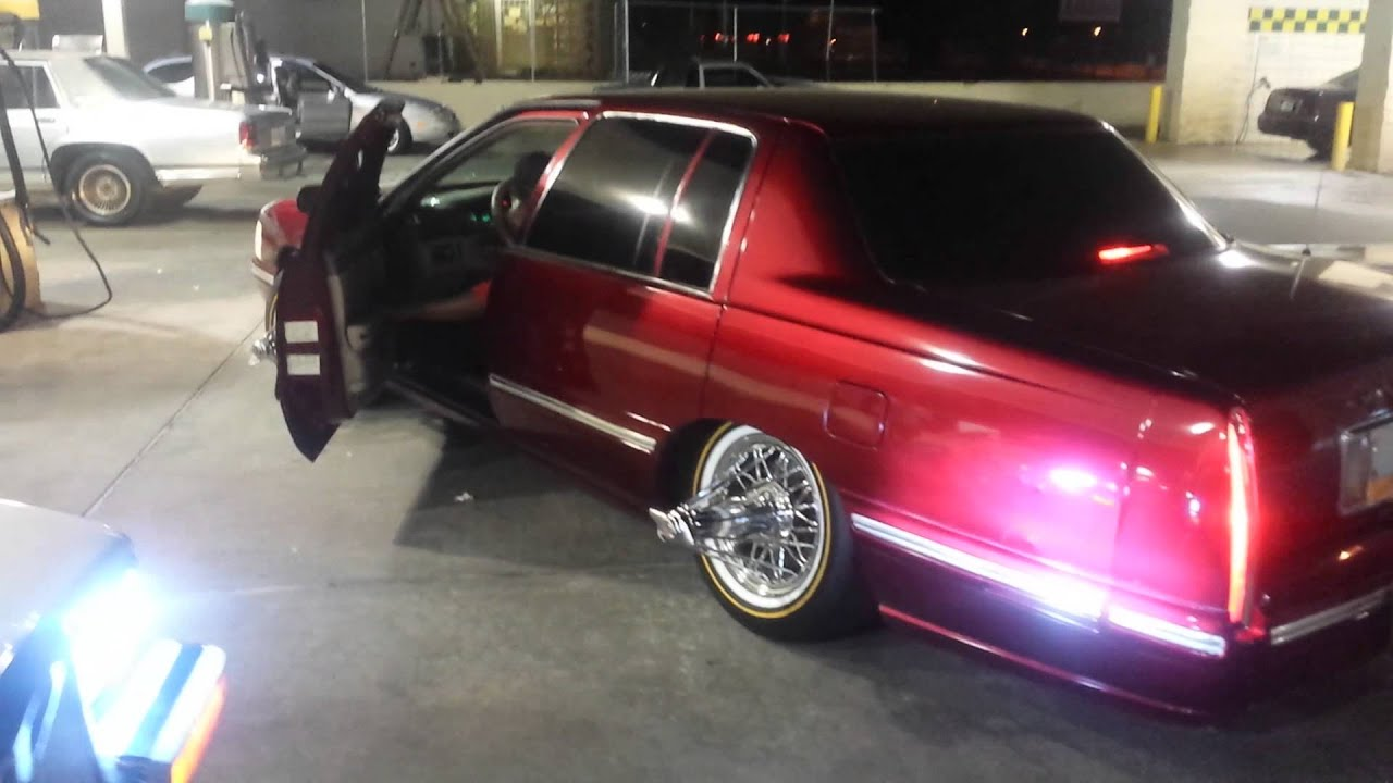 Two Cadillac On Swangas G8 And G12 Northside Youtube