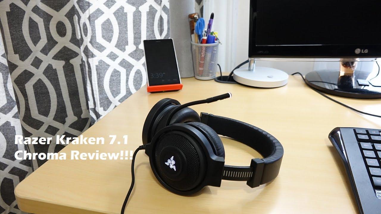 How To Download Razer Kraken 7.1 Drivers