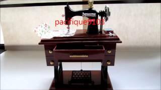 Sewing Machine Music Box Music Box Fur Elise Beethoven.wmv
