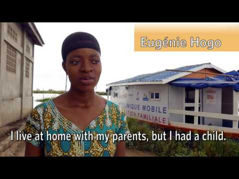 Family Planning outreach in Benin E/5min