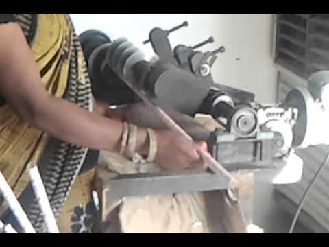 Small ID Paper Tube Cutting Machine