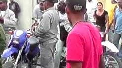 Ciudadano golpeado con pistola por Policia Nacional