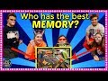 WHO HAS THE BEST MEMORY?  PLAY AT HOME!