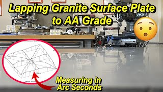 Lapping my Granite Surface Plate to AA Grade