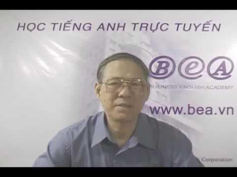 Học tiếng Anh trực tuyến trên www.bea.vn