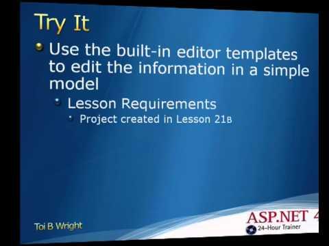 Lesson 22b editor templates in mvc youtube lesson 22b editor templates in mvc maxwellsz