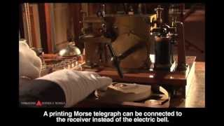 Wireless telegraphy demonstration apparatus (Braun system)