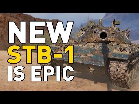 World Of Tanks || STB-1 Is Now EPIC!